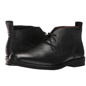 Cole Haan可汗 男士真皮休闲短靴 黑色