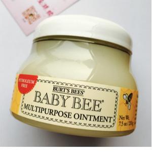 Burt's Bees小蜜蜂 纯天然宝宝万用安心霜210g*3瓶