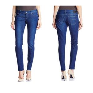 G-Star  3301 女士修身牛仔裤