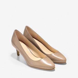 Cole Haan可汗女士真皮高跟单鞋