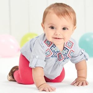 Carter's卡特官网有总统日特卖精选婴儿童装5折促销