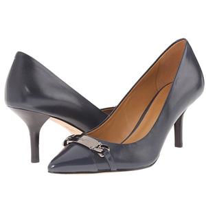 COACH蔻驰 Bowery女士真皮拼色浅口鞋