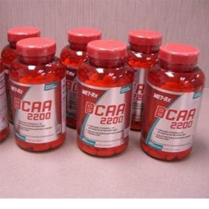 MET-Rx美瑞克斯 支链氨基酸2200补充剂胶囊 180粒