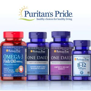 Puritan's Pride普丽普莱官网买1送1/买2送3+无门槛8折