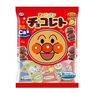 不二家面包超人儿童高钙巧克力34g×10袋