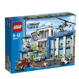 LEGO乐高 城市组Police Station 60047 警察总局