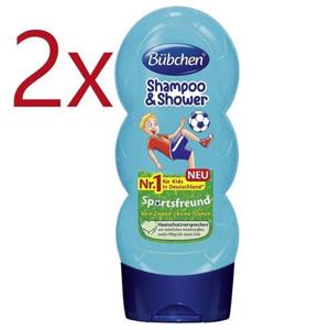 凑单品!Bübchen宝比珊男孩儿童洗发沐浴二合一 2x230ml