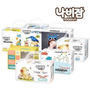 韩国11街 NABIZAM拿必赞 婴儿纸尿裤 促销专场