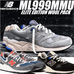 new balance ML999系列 男士复古运动鞋*3双