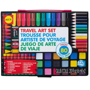 ALEX Toys 儿童绘画工具80件套