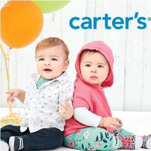 Carter's卡特官网春季特惠低至5折