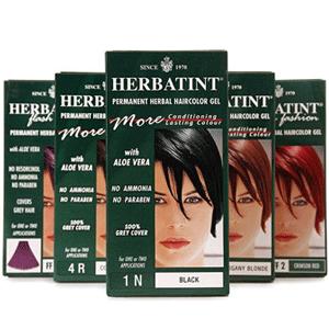 超人气Herbatint天然植物染发剂 多色