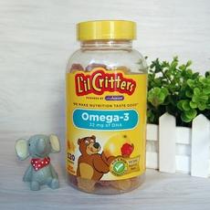 L'il Critters小熊糖 儿童OMEGA-3鱼油含DHA软糖 120粒