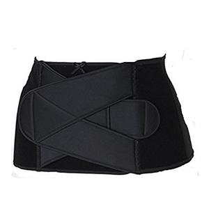 犬印本铺 产后立穿型束腹带/ 瘦腰带S3054 黑M码