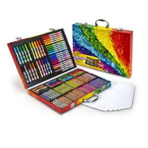 【断货】三件0税新低!Crayola绘儿乐 创意展现艺术珍藏礼盒