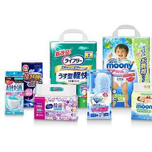日本亚马逊现有尤妮佳部分商品满5000日元立减1000日元优惠活动
