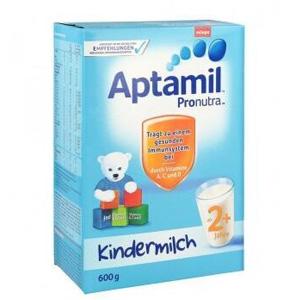 Aptamil爱他美 超市版 婴幼儿配方营养奶粉2+ 600g*4盒