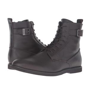 Calvin Klein Farrin男士皮靴 棕色