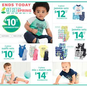 Carter's卡特美国官网全场童装促销