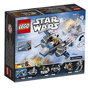 LEGO乐高星球大战系列抵抗军X-翼战斗机拼搭积木玩具 75125