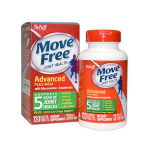 Move Free 绿盒维骨力关节炎止痛配方120粒
