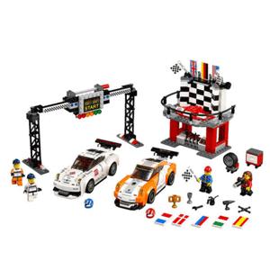 LEGO乐高 超级赛车系列 75912 保时捷911GT终点站