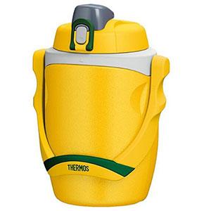 Thermos膳魔师FPG-1901大容量运动保冷水壶 1.9L 黄色