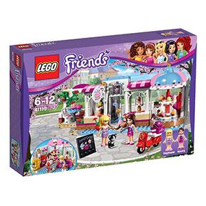 LEGO乐高Friends朋友系列心湖城纸杯蛋糕咖啡厅41119
