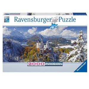 Ravensburger睿思 新天鹅堡(迪斯尼城堡原型) 2000片拼图