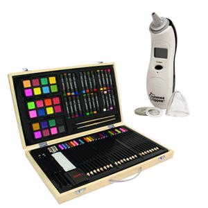 Color Creativity绘画套装+汤美天地电子耳温枪