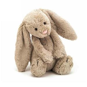 Jellycat柔软安抚玩偶邦尼兔 浅棕色 中号31厘米