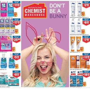 澳洲CW大药房4月优惠册导读 畅销品牌低至5折