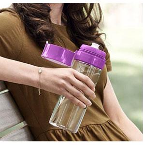 Brita碧然德净水壶Fill&Go净水杯滤水杯600ml 紫色