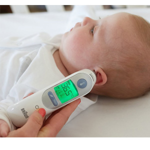 Braun博朗 婴幼儿耳温枪 IRT6520 耳温计