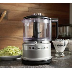 KitchenAid凯膳怡 3.5杯家用多功能料理机 银色