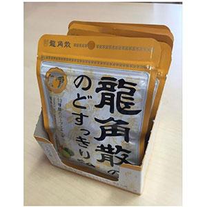 龙角散青柑橘果汁润喉糖88g×6袋