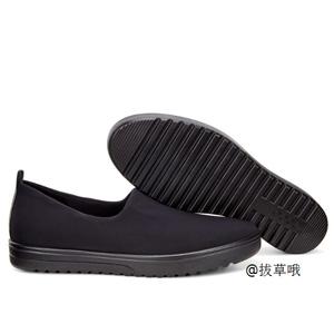 ECCO爱步 法拉女士一脚蹬板鞋 黑色