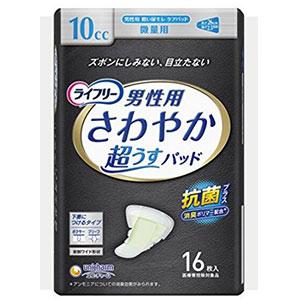 unicharm尤妮佳 成年男性用卫生巾10CC微量用 26cm*16片装