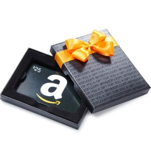 亚马逊中国 购礼品卡满100元送50元时尚现金券