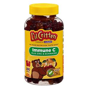 补货!L'il Critters小熊 维生素软糖 190粒