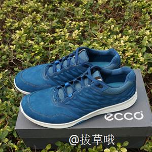 ECCO爱步EXCEED系列女士牦牛皮户外休闲鞋