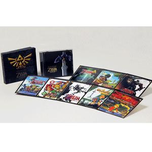 《塞尔达传说:30周年纪念CD音乐合集》(含16张历代游戏封面卡片)