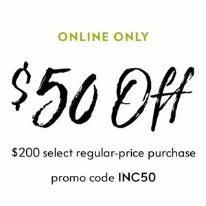 NM尼曼买正价服饰鞋包类满$200立减$50