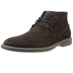 Calvin Klein卡尔文·克莱恩 Ulysses 男士真皮短靴