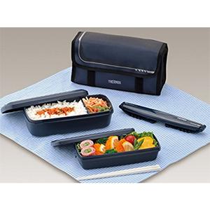 THERMOS 膳魔师 DJB-903W NVY 2段式午餐盒 900ml