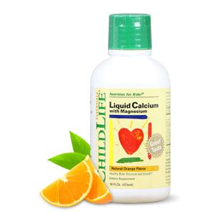 ChildLife童年时光 儿童液体钙镁锌474ml *5件