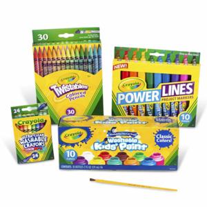 Crayola绘儿乐 Marker 学生蜡笔和颜料套装