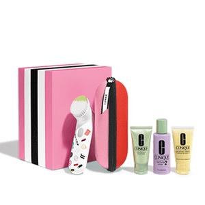 Clinique倩碧洗脸刷套装上线5折专区+送正装液体洁面(价值$17)!