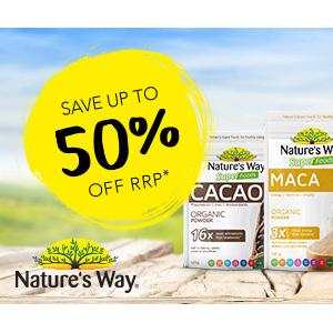 澳洲CW大药房 Nature's Way佳思敏软糖半价优惠