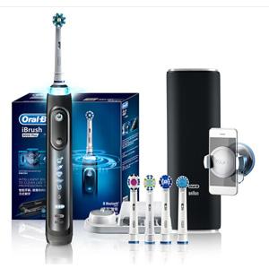 Oral-B 旗舰款 iBrush9000 Plus 智能电动牙刷套装*2+凑单品